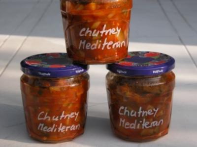 Chutney Mediteran - Rezept