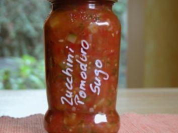 Zucchini - Pomodoro - Sugo - Rezept