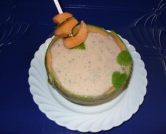 Melonen-Buttermilch-Drink - Rezept