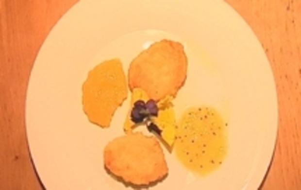 Kartoffelpuffer an exotischer Fruchtsoße - Rezept