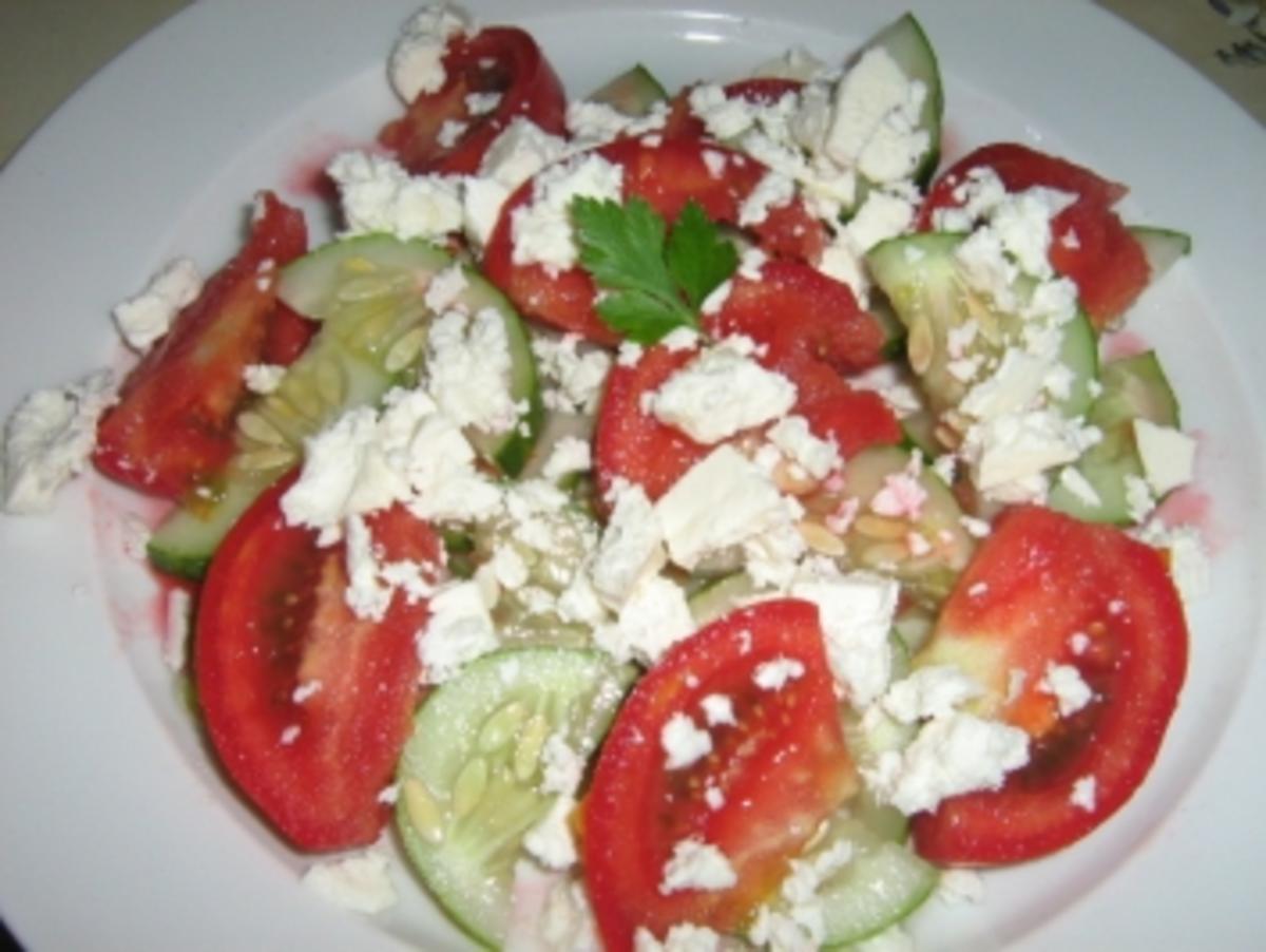 Schopska oder Bulgarischer Salat - Rezept von anjastog
