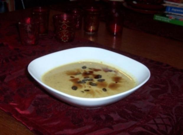 Kürbis-Kokos-Curry-Suppe - Rezept - Bild Nr. 2