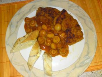 Rezept: Danni´s Jägersauce mit Hähnchenschnitzel
