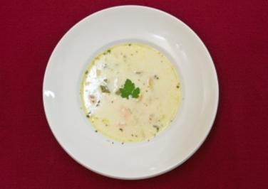 Clam Chowder - Muschel-Fischsuppe (Kathy Kelly) - Rezept