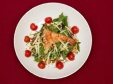 Schwimmer auf Rucola - Riesengarnele auf Salat (Hannah Stockbauer) - Rezept