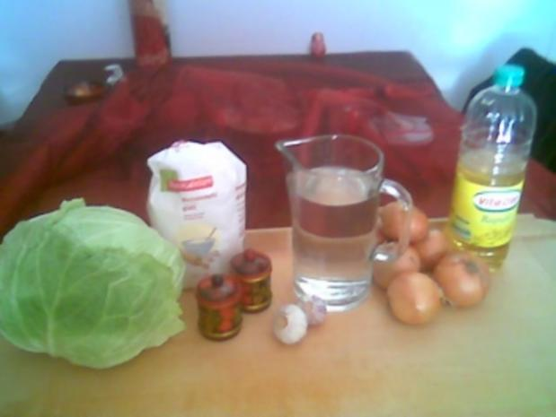 Warenyky mit Kohlfüllung - Rezept