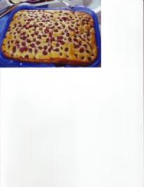 Eierlikör - Kirsch - Schnitten - Rezept