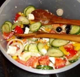 Griechischer Bauernsalat - Rezept
