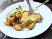 Chateaubriand an Sauce Bearnaise mit Rosmarin-Kartoffeln - Rezept