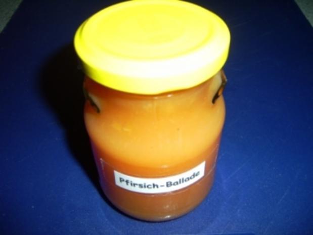 Die Pfirsich-Ballade - Rezept