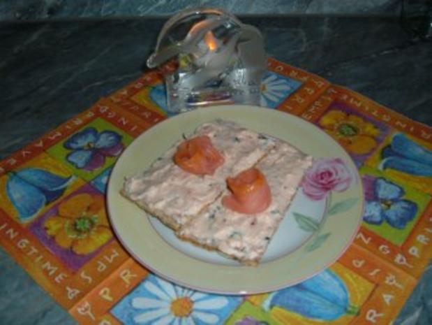 Brotaufstrich : Lachs Creme - Rezept