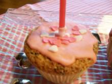 Debbies Geburtstagsmuffins - Rezept