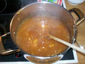 Karamell-Apfel Konfitüre - Rezept