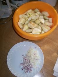 Apfel-Zwiebel Chutney - Rezept