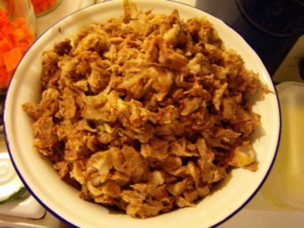 Suppe eingekocht, mit Schweinefleisch und Gemüse - Rezept - Bild Nr. 4