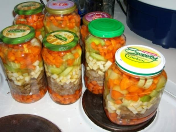 Suppe eingekocht, mit Schweinefleisch und Gemüse - Rezept - Bild Nr. 8