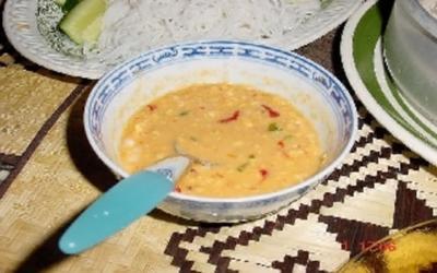 Rezept: Erdnuss-Chilli-Dip