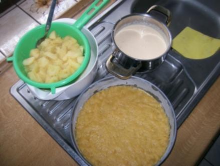Käse-Apfelkuchen - Rezept