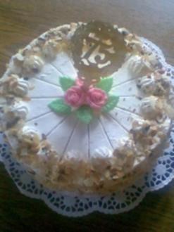 Prosecco - Pfirsich - Torte - Rezept