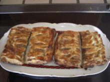 Kuchen- Blätterteigtaschen süß - Rezept