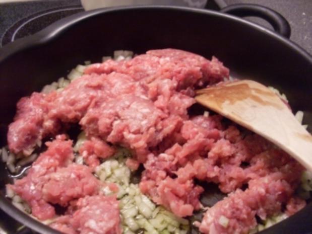 Kartoffelauflauf mit Hackfleisch und Gemüse - Rezept - Bild Nr. 3