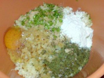 Kartoffelplätzchen mit Kräutern - Rezept