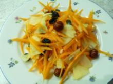 Apfel-Möhren-Salat da only one x) - Rezept