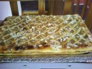 Apfel-Gitterkuchen - Rezept