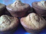 Bananen - Nuss - Muffins - Rezept