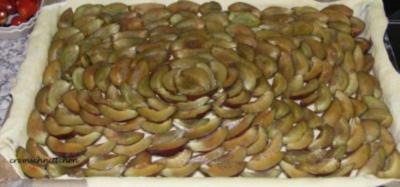Rezept: Pflaumenkuchen mit Sauerrahm
