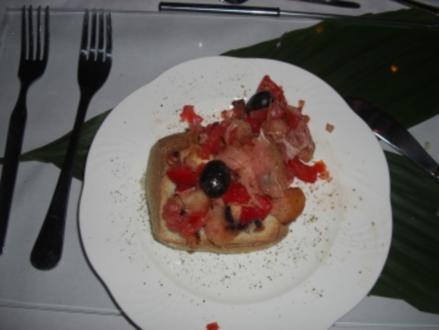 Gäste - Brotsalat sucht sein Brötchen - Rezept