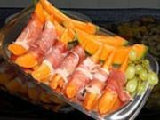 Melone mit Parmaschinken - Rezept