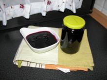 Blaubeerkonfitüre mit Chilli - Rezept