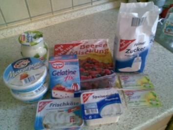 Beeren-Torte - Rezept