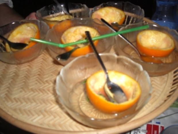 Getränke-Vorspeise Campari-Limoncello-Sorbet - Rezept - Bild Nr. 2