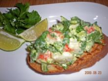 Avocado - Langusten  Crostinis - Rezept