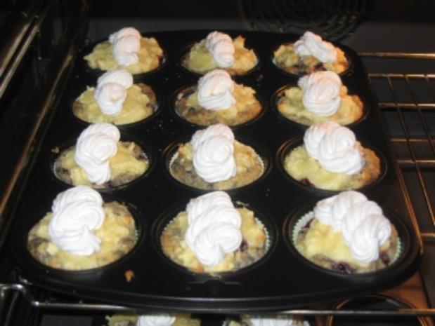 Brombeer-Baiser-Muffins - Rezept - Bild Nr. 6