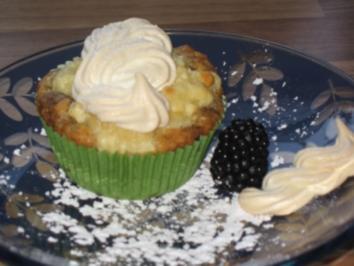 Brombeer-Baiser-Muffins - Rezept