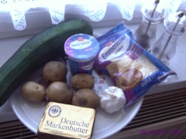Zucchini-Kartoffel-Broccoli-Auflauf - Rezept - Bild Nr. 3