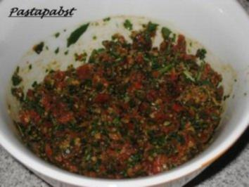 Rucola - Tomaten - Pesto - Rezept
