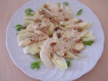 Rezept: Birnen-Fenchel-Salat
