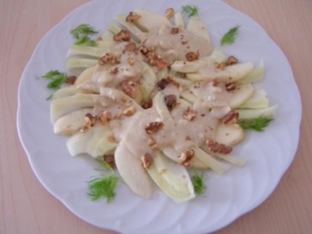Birnen-Fenchel-Salat - Rezept