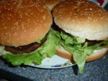 Mega-Burger - Rezept