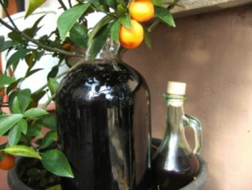 Getränke: Holunderlikör - Rezept