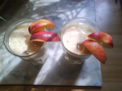 Nektarinen Milkshake - Rezept