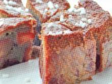 dessert torta di prugne al vino rosso - Rezept