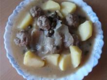 ** Hauptgerichte ** Klopse Königsberger Art - Rezept