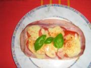 Tomaten-Mozarella-Toast - Rezept