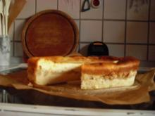 Apfel-Käsekuchen mit Cidre - Rezept