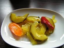 Vorrat: Zucchini wird sauer - Rezept
